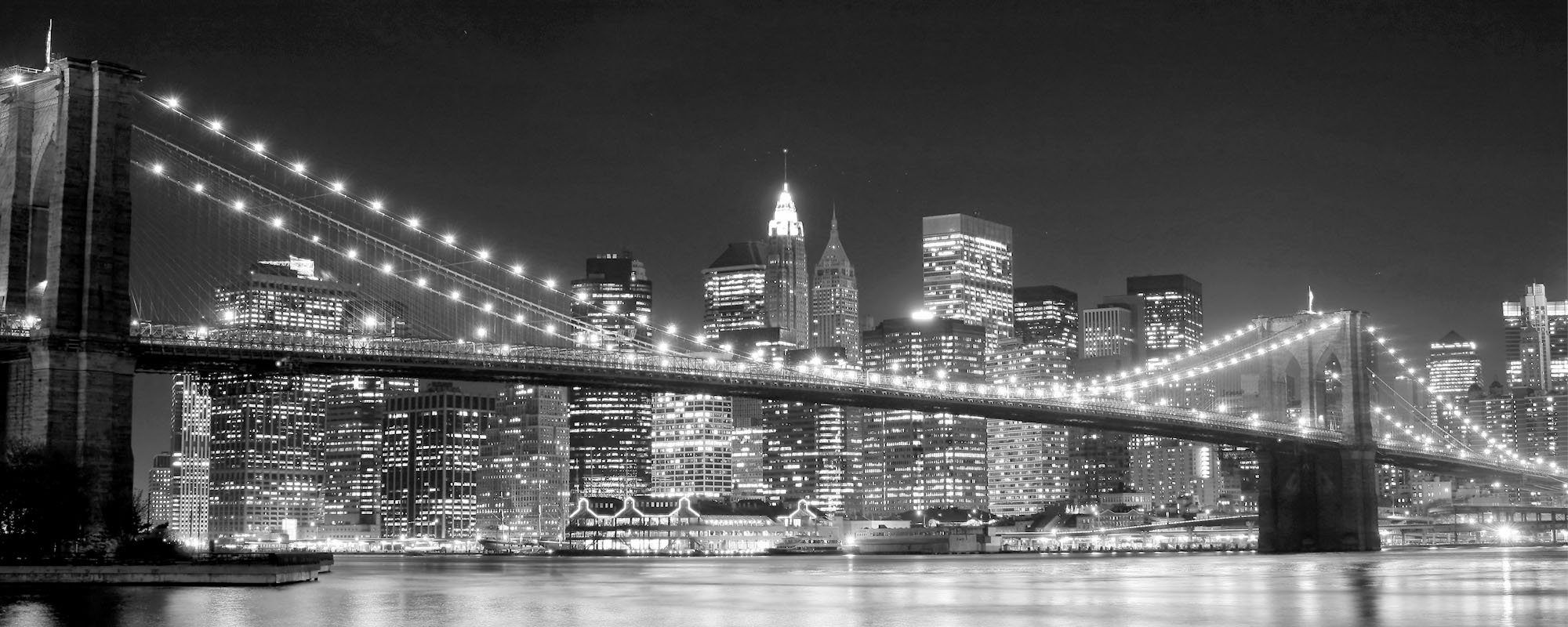 Black and White photo of Brooklyn Bridge | Conventional Loan